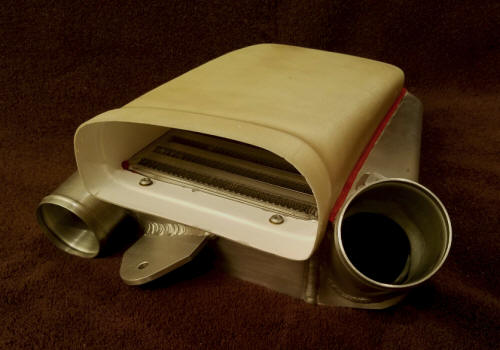 Piper Turbo Arrow intercooler plenum
